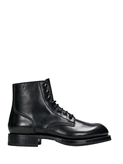 Dsquared 2-Anfibi Maxime in pelle nera