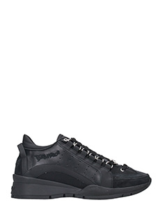 Dsquared 2-Sneakers 551 in pelle nera