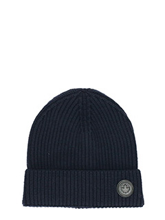 Dsquared 2-Cappello Knit in lana blue