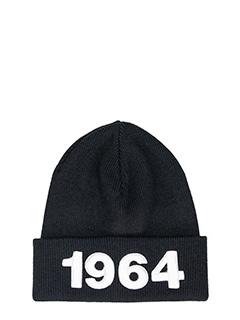 Dsquared 2-Cappello Knit in lana nera