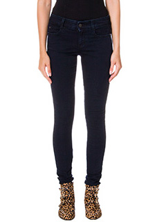 Stella McCartney-Skinny Fit Regular blue denim jeans