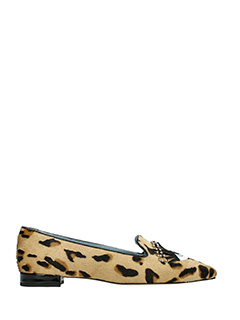 Chiara Ferragni-Slippers Flirting Eye in cavallino leopard