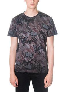 Valentino-T-Shirt in cotone viola