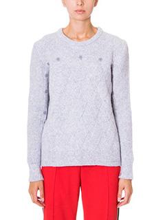Kenzo-grey wool knitwear