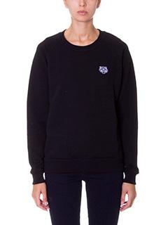 Kenzo-black cotton sweatshirt