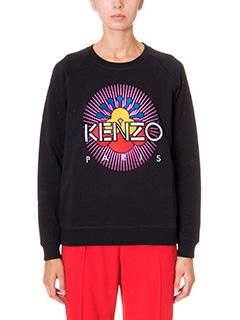 Kenzo-tanami black cotton sweatshirt