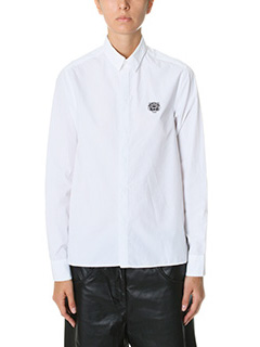 Kenzo-white cotton shirt