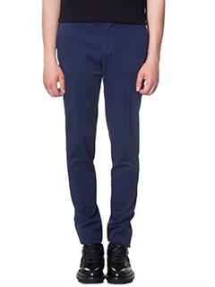 Kenzo-Pantaloni in cotone blue