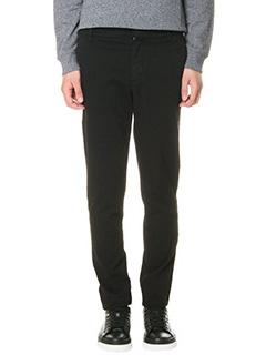 Kenzo-Pantaloni in cotone nero