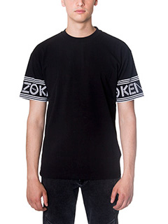 Kenzo-T-Shirt Skate in cotone nero