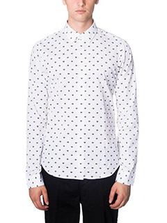 Kenzo-Camicia in cotone bianco