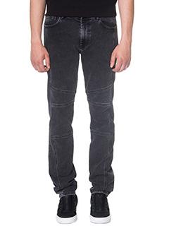 Kenzo-Jeans in denim grigio