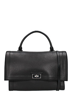 Givenchy-Borsa Shark Medium in pelle nera