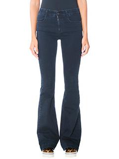Stella McCartney-Jeans in denim blue