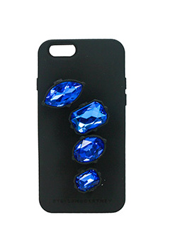 Stella McCartney-Cover iPhone 6 in silicone nero