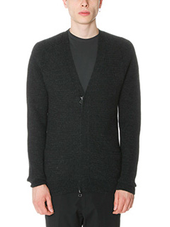 Lanvin-Cardigan in lana nera