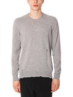Lanvin-Maglia in lana grigia