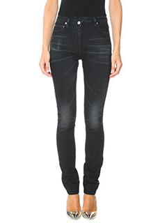 Golden Goose Deluxe Brand-Jeans Noir in denim nero