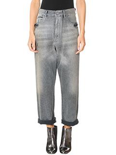 Golden Goose Deluxe Brand-Jeans Kim in denim grigio