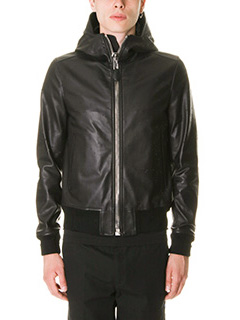 Givenchy-Bomber in pelle nera