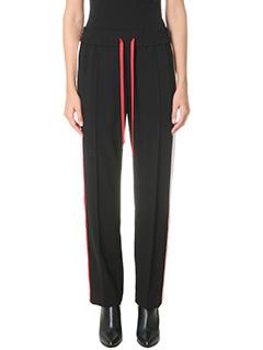 Kenzo-Pantaloni in cr�pe nera