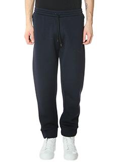Balenciaga-Pantalone in neoprene blue