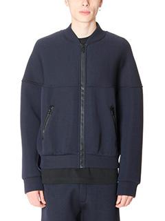Balenciaga-Bomber in cotone blue