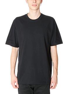 Balenciaga-T-Shirt in cotone nero