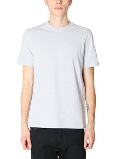 Balenciaga-T-Shirt in cotone grigio