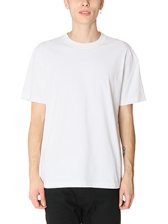 Balenciaga-T-Shirt in cotone bianco