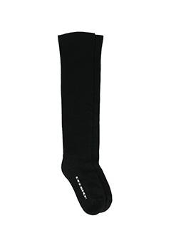 Rick Owens DRKSHDW-Calzini Sock in cotone nero