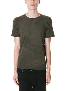 Maison Margiela-T-Shirt in cotone mility fantasia