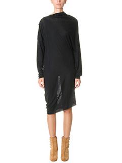 Maison Margiela-Vestito in lana nera