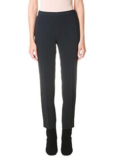 Maison Margiela-black cotton pants