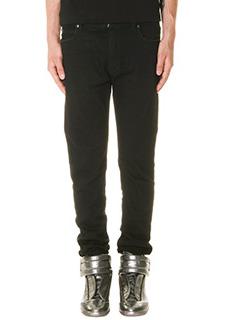 Maison Margiela-Jeans in denim nero