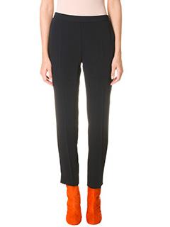 Maison Margiela-black viscose pants