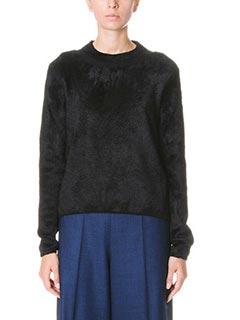 Maison Margiela-black wool knitwear
