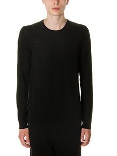 Maison Margiela-Maglia in lana nera