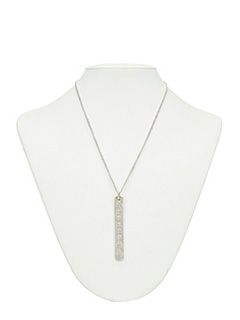 Maison Margiela-Collana con pendente in argento
