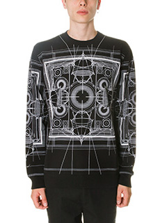 Givenchy-Felpa in cotone nero