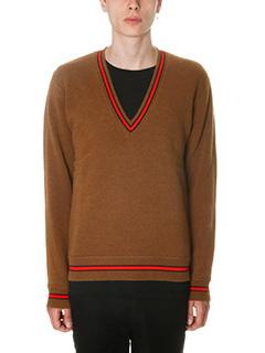 Givenchy-Maglia in lana marrone