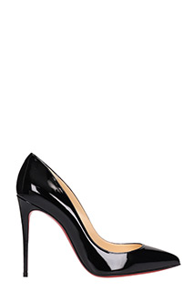 Christian Louboutin-Pigalle follies black leather pumps
