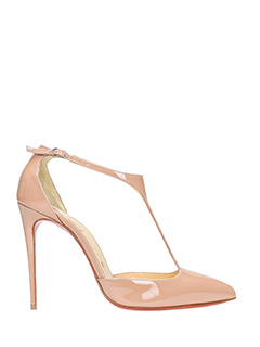 Christian Louboutin-J.string beige leather pumps