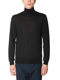 Jil Sander-Maglia  in lana nera