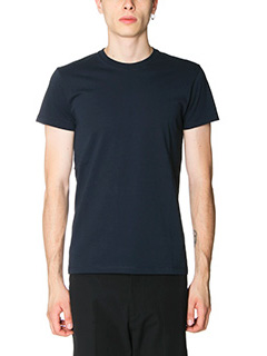 Jil Sander-T-Shirt in jersey blue