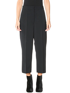 Stella McCartney-Pantaloni in lana  nera