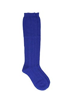 Maison Margiela-blue wool socks