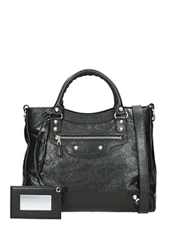 Balenciaga-Giant 12velo black leather bag