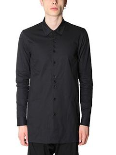 Damir Doma-Camicia Saba in cotone nero
