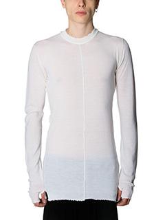 Damir Doma-Maglia in lana bianca